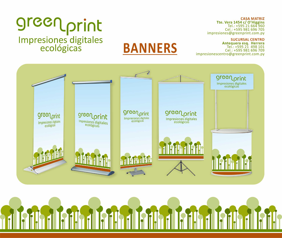 Banners & Roll up